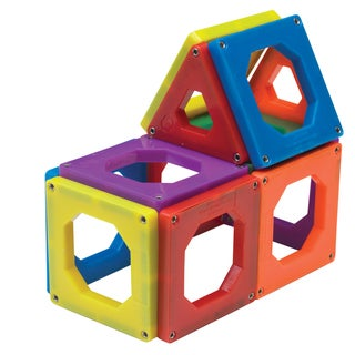 Discovery Kids 24 piece Magnetic Tile Set 2d7dbbe3 5044 42fd 974f 1c4f831a78b8 320 Magnetic Attraction @Discoverykids