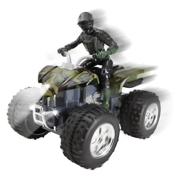 Black Series Remote Control All-Terrain Sport Quad Vehicle 11538814