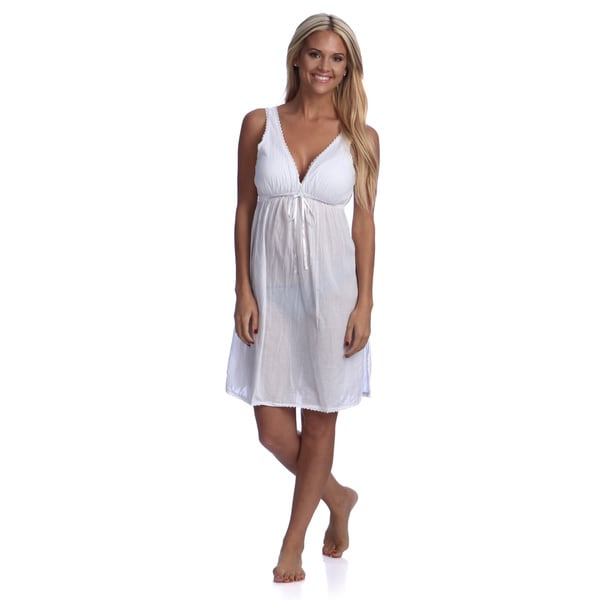 Lace Trimmed Nightdress
