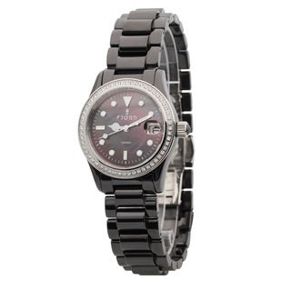 Fjord Women's 'Valentin' Crystal-accented Watch