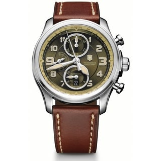 Victorinox Swiss Army Men's Infantry Vintage Olive Dial Automatic Watch