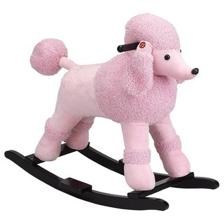 Baby Poodle Rocker with Sound