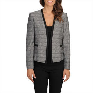 Evan Picone Women's Novelty Career Blazer