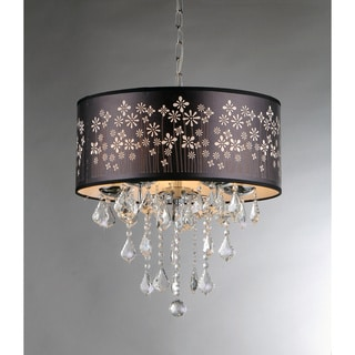 Floral Crystal Chandelier