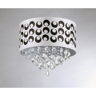 Tiffany Pattern Crystal Chandelier