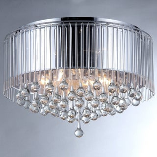 Robin Chrome-finish Crystal Chandelier