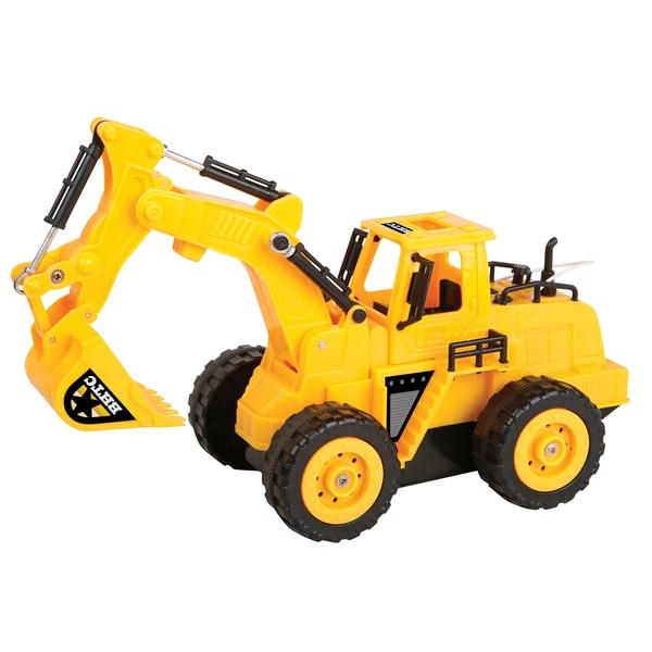 Heavy duty remote control excavator truck