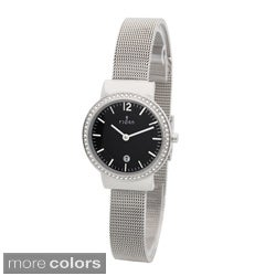 Fjord Women's 'Elina' Crystal-accented Watch