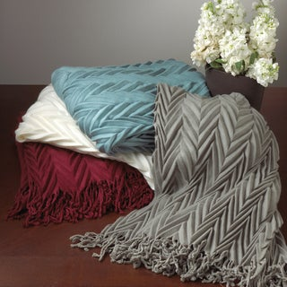 Crinkled Throw