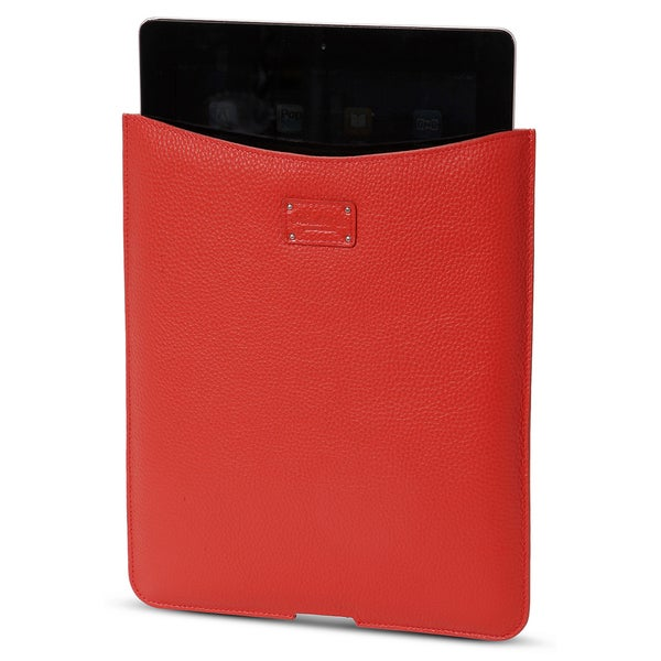Morelle Tess Genuine Leather Coral iPad Holder