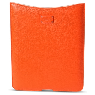 Morelle & Co Tess Genuine Leather Orange iPad Holder