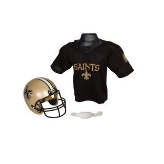 Orleans Saints NFL Helmet and Jersey Set