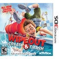3DS - Wipeout: Create & Crash