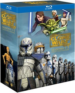 Star Wars: The Clone Wars - Seasons 1-5 Collectors Edition (Blu-ray Disc)