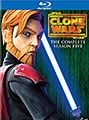 Star Wars: The Clone Wars - Season 5 (Blu-ray Disc)