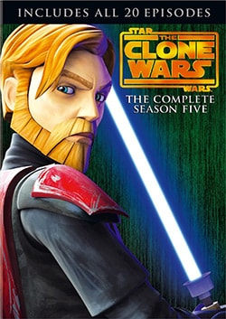 Star Wars: The Clone Wars - Season 5 (DVD)