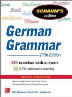 Schaum's Outline of German Grammar (Paperback)