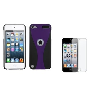 BasAcc Case/ Anti-glare Screen Protector for Apple� iPod Touch 5