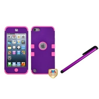 BasAcc TUFF Hybrid Case/ Stylus for Apple iPod Touch 5