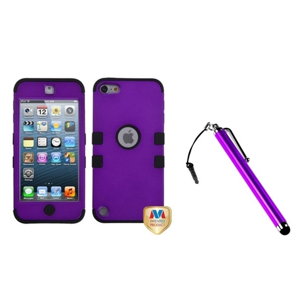 INSTEN TUFF Hybrid iPod Case Cover/ Stylus for Apple iPod Touch 5