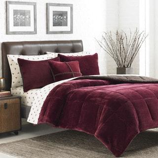 Eddie Bauer Premium Fleece 3-piece Reversible Comforter Set