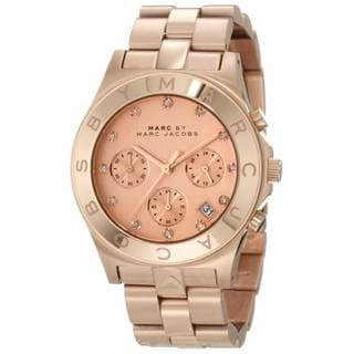 Marc Jacobs Women's MBM3102 Classic Chronograph Watch