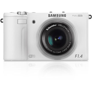 Samsung EX2F 12.4MP Wi-Fi White Digital Camera