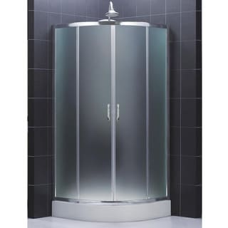 DreamLine Prime Sliding Shower Enclosure and 36x36-inch Shower Floor