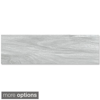 EmryTile 'Acacia' Wood-like Porcelain 8 x 40-inch Tiles (Pack of 6)