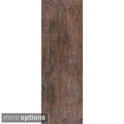 EmryTile 'Veranda' Wood-like Porcelain 6 x 24-inch Tiles (Pack of 11)