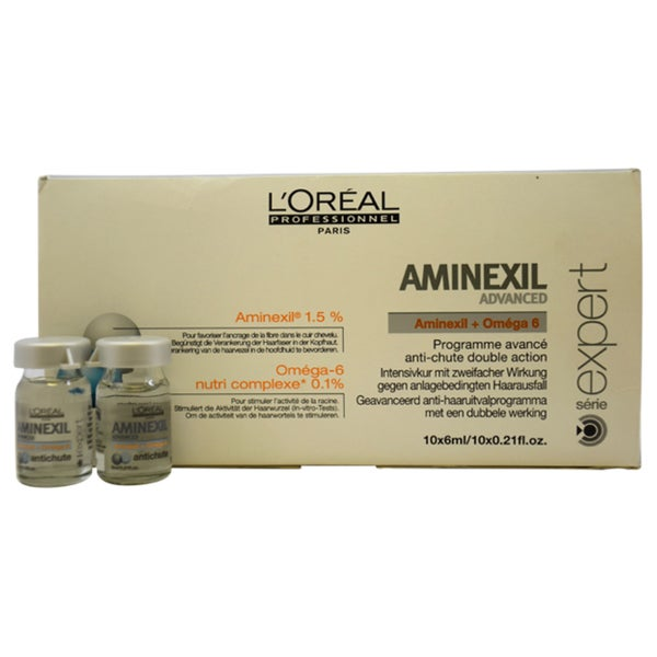 L'Oreal Serie Expert Aminexil Advanced 0.2-ounce Treatment (Pack of 10)