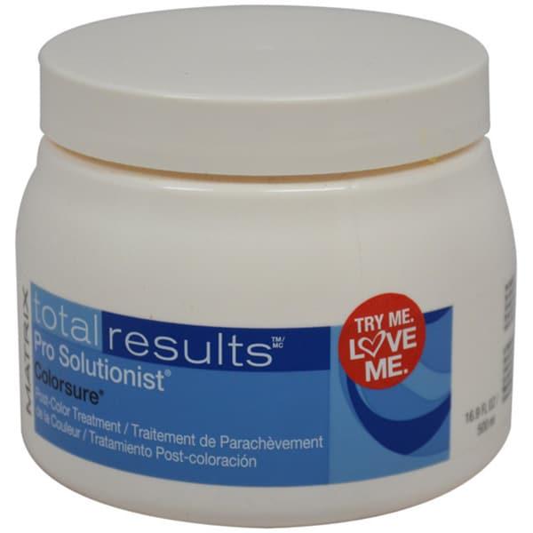 Matrix Total Results Pro Solutionist Colorsure Treatment