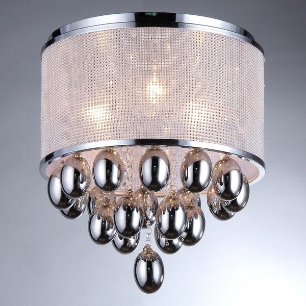Sliver Drops Crystal Chandelier