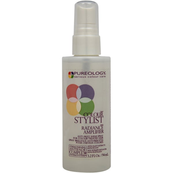 Pureology Color Stylist Radiance Amplifier Anti-Frizz 3.2-ounce Shine Spray