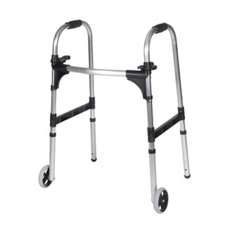 Adult Light Weight Paddle Walker with Wheels