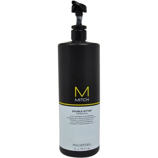 Paul Mitchell Mitch Double Hitter 2-in1 Men's 33.8-ounce Shampoo & Conditioner