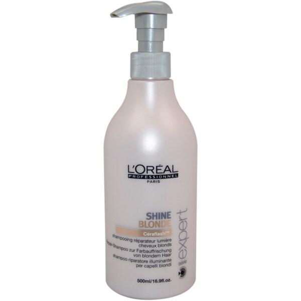 L'Oreal Serie Expert Shine Blonde 16.9-ounce Shampoo