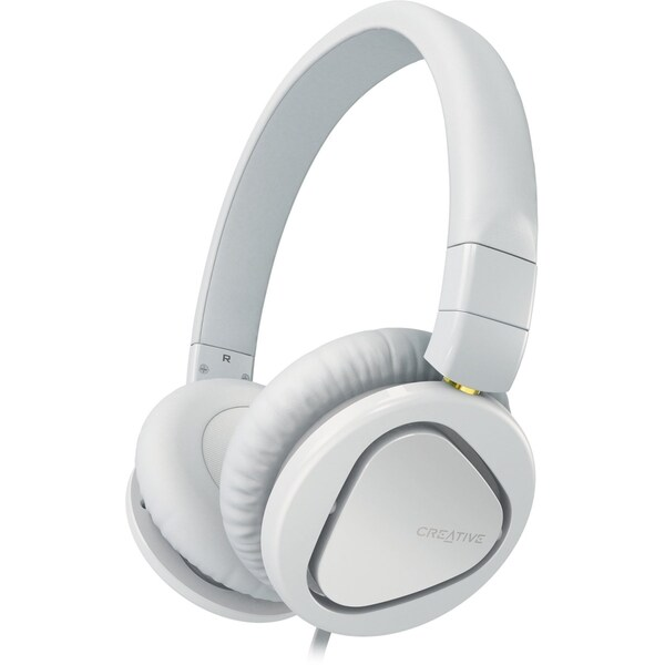 Creative Hitz MA2600 Premium Headset For Music And Calls (White)