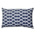Pillow Perfect Graphic Ultramarine Rectangular Throw Pillow