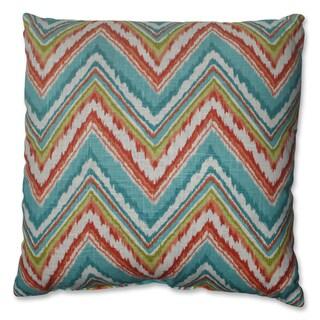 Pillow Perfect Chevron Cherade 18-inch Throw Pillow