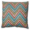 Pillow Perfect Chevron Cherade 18-inch Throw Pillow