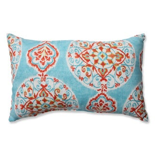 Pillow Perfect Mirage Medallion Rectangular Throw Pillow