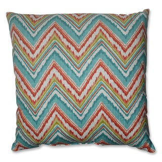 Pillow Perfect Chevron Cherade 23-inch Decorative Pillow