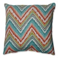 Pillow Perfect Chevron Cherade 16.5-inch Throw Pillow