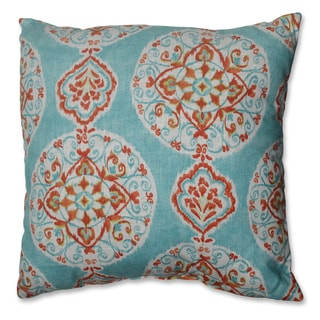 Pillow Perfect Mirage Medallion 18-inch Throw Pillow