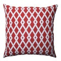 Pillow Perfect Graphic Pomegranate 16.5-inch Throw Pillow