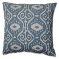 Pillow Perfect Ikat Empire Yacht 18-inch Throw Pillow