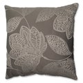 Pillow Perfect Beatrice Jute 18-inch Throw Pillow