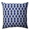 Pillow Perfect Graphic Ultramarine 16.5-inch Throw Pillow