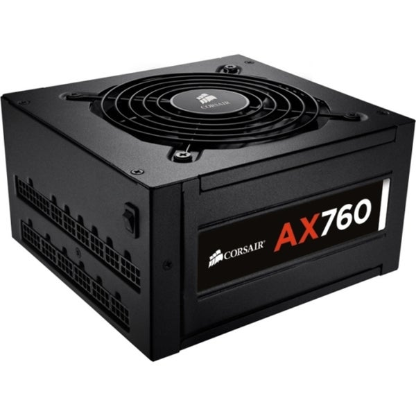 Corsair AX760 ATX Power Supply - 760 Watt 80 PLUS Platinum Certified